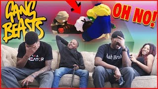 The Susie Makers Do HORRIBLE Things To Us! - Gang Beasts Gameplay