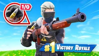 Fortnite But You Only Get ONE Shot!