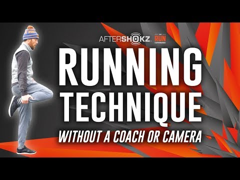 Running Technique Without a Coach or Camera
