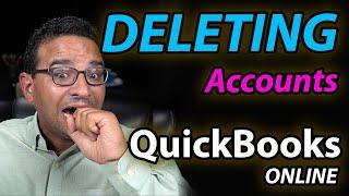 Deleting Accounts in QuickBooks Online