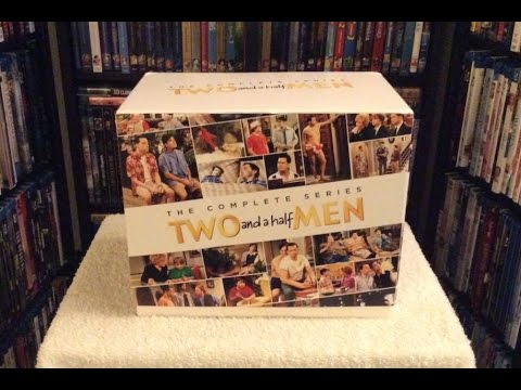 Two and a Half Men: The Complete Series DVD UNBOXING and Review - Charlie Sheen