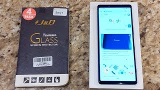 [Review] J&D Tempered Glass for Sony Xperia 1