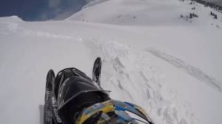 NEAR DEATH COMPILATION - SNOWMOBILES