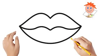 How To Draw Lips | Easy Drawings