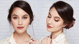 Work Makeup & Hair Tutorial | Karima McKimmie - Video Youtube
