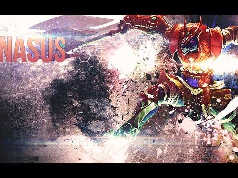 Wallpaper in Photoshop - League of Legends (Nasus speedart)
