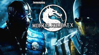 Mortal Kombat X  Película Completa En Español Full Movie Del Juego PS4  Jomanplay