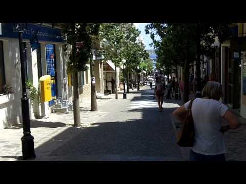 Agios Nikolaos, Crete - shopping street