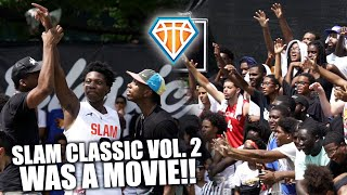 SLAM CLASSIC VOLUME 2 WAS A MOVIE!!   TOP High School Stars Had Dyckman Park ON FIRE