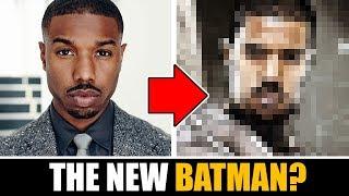 Drawing MICHAEL B JORDAN as THE NEW BATMAN !?!