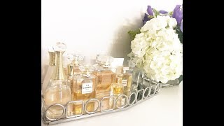 MY LUXURY PERFUME COLLECTION - CHANEL, HERMES, DIOR and CARTIER!!!
