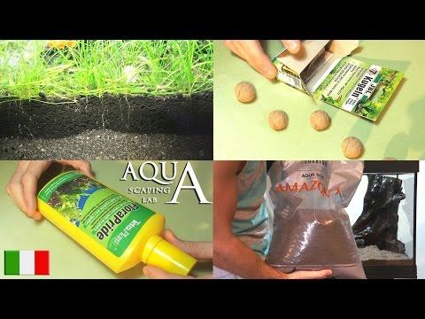 Aquascaping Lab - Fertilizzazione piante acquatiche: liquidi,in polvere,terriccio fertile,Co2,luce