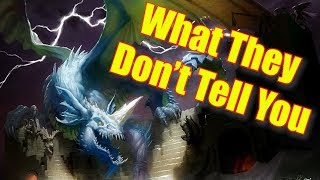 Dungeons and Dragons Lore: What the Monster Manual Doesn't Tell You About Blue Dragons