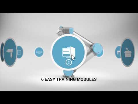 Universal robots academy free online robot training - YouTube