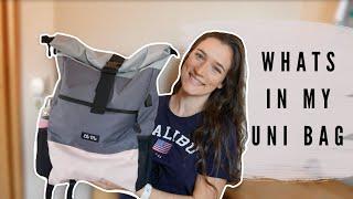 WHATS IN MY UNI BAG - Was brauche ich wirklich?