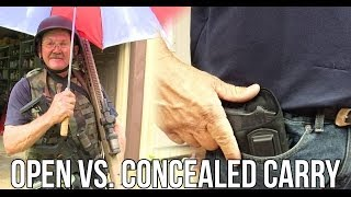 Open Carry vs. Concealed Carry: When is it appropriate? with Jerry Miculek