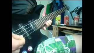 Annihilator - Imperiled Eyes (bass cover) - TheRBXbass