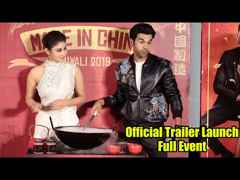 Made In China Official Trailer launch | COMPLETE EVENT | Rajkummar Rao, Boman, Mouni
