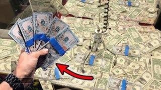 WON $5,000 FROM MONEY CLAW MACHINE! | JOYSTICK
