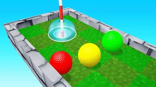 We Made The FINISH IMPOSSIBLE In Golf It!