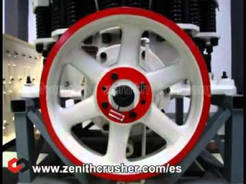 La trituradora de cono Symons, español. [WisMencoder Encoded].avi