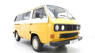 preview picture of video 'A Superbly Styled T25 VW Camper Van Created for Freedom Leisure Outings - SOLD!'
