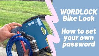 How to set/reset your own password for WordLock BikeLock CL-409-BL
