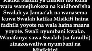 preview picture of video '1308- Nasaha Kwa Wanawake Wanaoonesha Nyuso Zao - ´Allaamah ´Abdul-´Aziyz Aal ash-Shaykh'