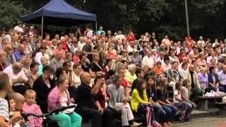 preview picture of video 'CZERWIONKA LESZCZYNY NA ANTENIE  LIPIEC 2012'