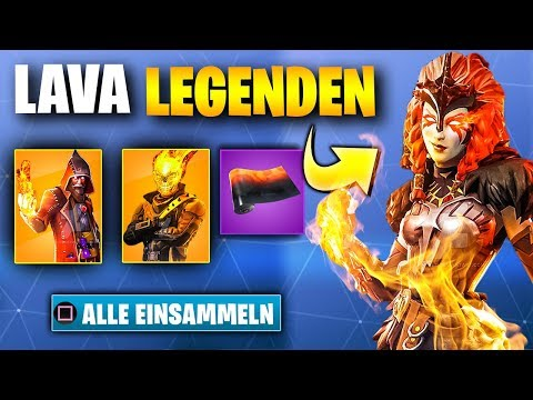 Das NEUE LAVA LEGENDS Skin Bundle 🔥 | Fortnite Season 8 Leak Deutsch