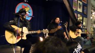 Los Lonely Boys performing 'It's Just My Heart Talking' @ Amoeba Music 02-05-14