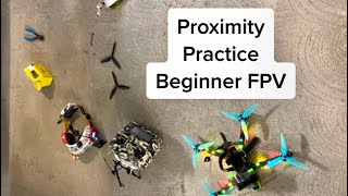 Proximity Practice, Beginner FPV drone chase, Day 208
