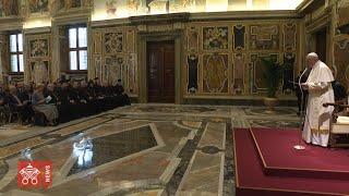 Papa Francesco udienza Società per il Diritto delle Chiese Orientali 2019-09-19