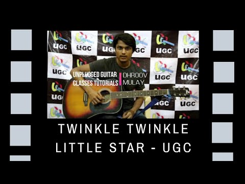 TWINKLE TWINKLE LITTLE STAR GUITAR LESSON