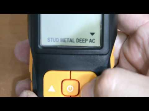 Detector Excelvan 3 en 1, Madera, Metal y Cables de Luz.