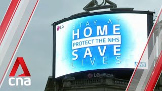 London mayor Sadiq Khan says UK 'nowhere near' lifting COVID-19 lockdown