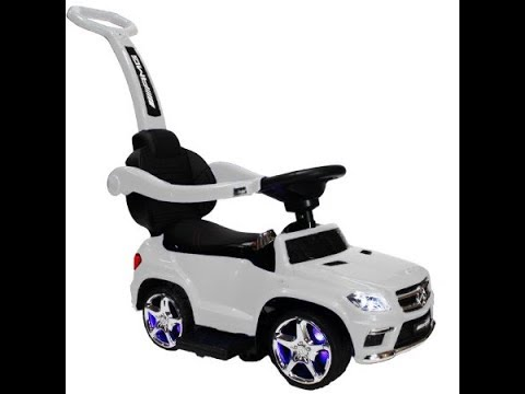 4-1 Mercedes Benz stroller w/ LED and audio player assembly(SUBSCRIBE)