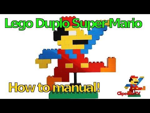 Lego Duplo Super Mario - Stein auf Stein einen Lego Duplo Mario bauen