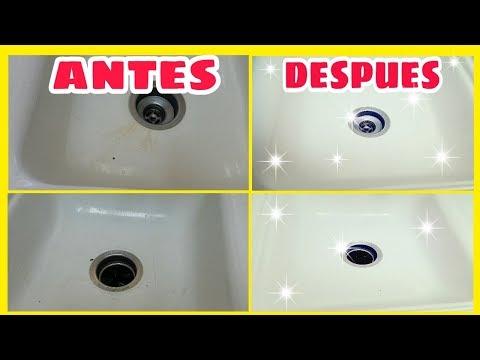 Como Limpiar El Fregadero De Ceramica Y Quitar Rayones смотреть