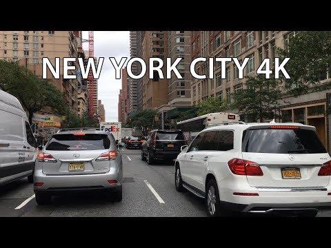 Drive 4K - Rich Upper East Side - New York City USA
