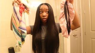 5 BEDTIME HAIRSTYLES FOR WEAVES FT. NADULA HAIR