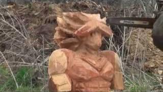 「ジェイソンさん」ブロリーを彫る!「ドラゴンボール」