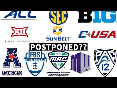 College Football Season To Be Postponed??