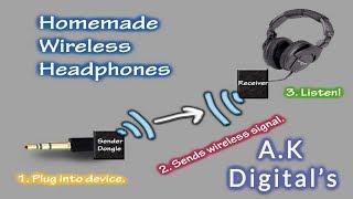 How to make  Wireless earphone earbuds || Hindi / Urdu || A.K Digital's