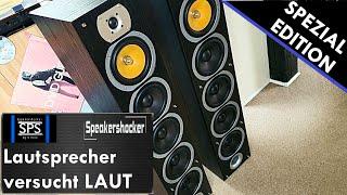 Günstige 1200 Watt Lautsprecher Ultra Fake Bass mit Noise Cancelling und vergleichs Soundcheck.