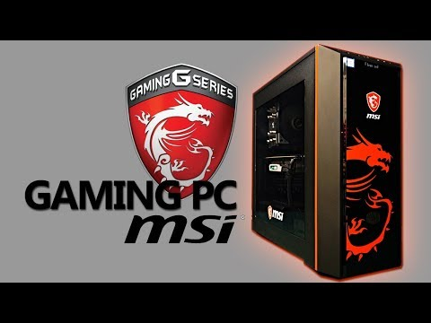 Gamer PC powered by MSI