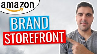 2020   How to Create an Amazon Store Brand Storefront