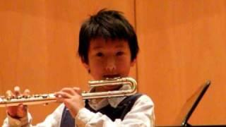 Danse de la Chevre Arthur Honneger, Jordie (age 9), solo flute