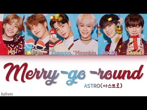 ASTRO (아스트로) - 'Merry-go-round (Christmas Edition)' LYRICS [HAN|ROM|ENG COLOR CODED] 가사