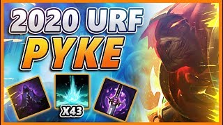 *43 KILLS* 5 SUPPORTS IN URF CANT LOSE!! (CLOSEST GAME OF ALL TIME) - BunnyFuFuu URF